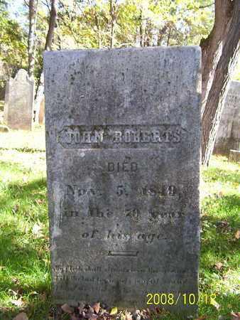ROBERTS, JOHN - Washington County, New York | JOHN ROBERTS - New York Gravestone Photos