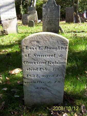 ROBINSON, LOIS E - Washington County, New York   LOIS E ROBINSON - New York Gravestone Photos