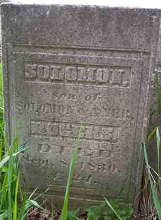 ROGERS, SOLOMON - Washington County, New York | SOLOMON ROGERS - New York Gravestone Photos