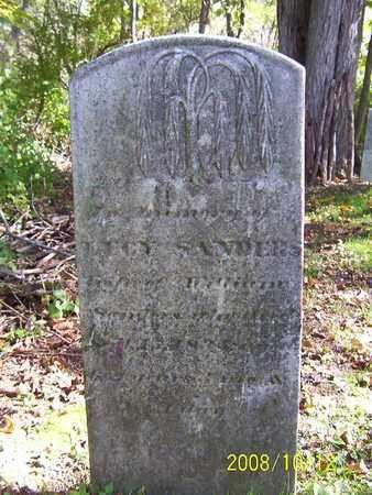 SANDERS, LUCY - Washington County, New York   LUCY SANDERS - New York Gravestone Photos