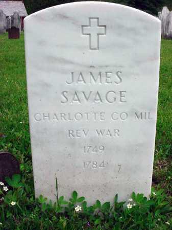 SAVAGE (RW), JAMES - Washington County, New York | JAMES SAVAGE (RW) - New York Gravestone Photos