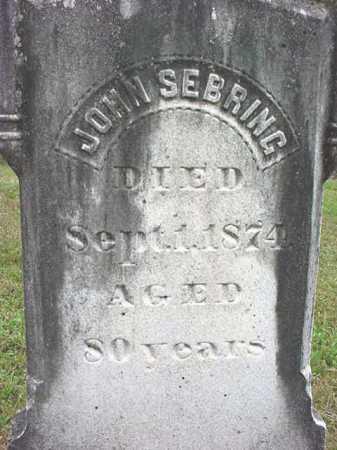 SEBRING, JOHN - Washington County, New York | JOHN SEBRING - New York Gravestone Photos