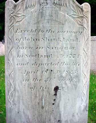 SHANKLAND, JOHN - Washington County, New York   JOHN SHANKLAND - New York Gravestone Photos