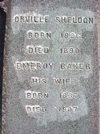 BAKER, EMEROY - Washington County, New York | EMEROY BAKER - New York Gravestone Photos