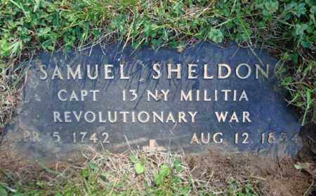 SHELDON (RW), SAMUEL - Washington County, New York | SAMUEL SHELDON (RW) - New York Gravestone Photos