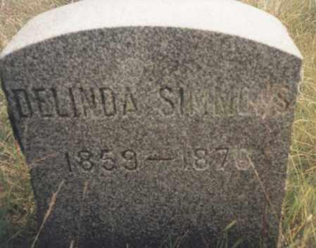 SIMMONS, DELINDA - Washington County, New York | DELINDA SIMMONS - New York Gravestone Photos