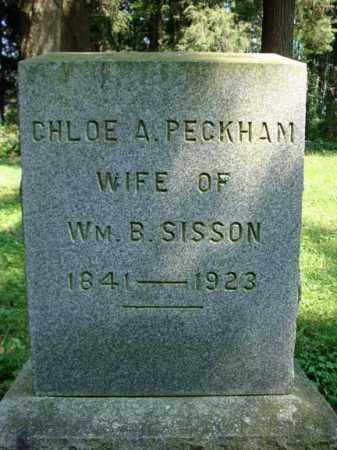 PECKHAM, CHLOE A - Washington County, New York | CHLOE A PECKHAM - New York Gravestone Photos