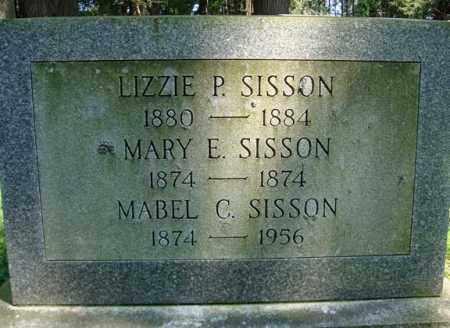 SISSON, MARY E - Washington County, New York | MARY E SISSON - New York Gravestone Photos