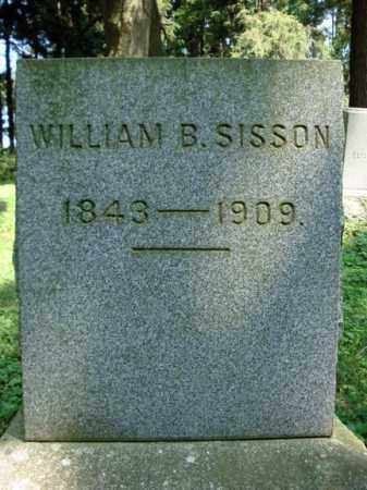 SISSON, WILLIAM B - Washington County, New York | WILLIAM B SISSON - New York Gravestone Photos