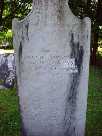 SMITH, HENRY - Washington County, New York | HENRY SMITH - New York Gravestone Photos