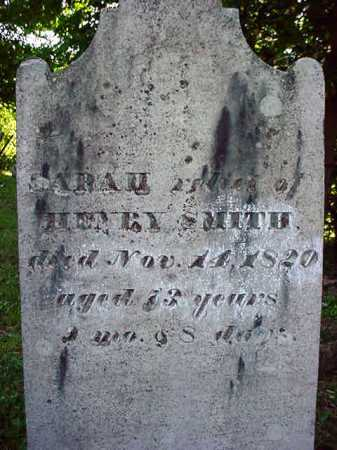 SMITH, SARAH - Washington County, New York | SARAH SMITH - New York Gravestone Photos