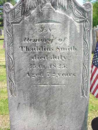 SMITH, THADDIUS - Washington County, New York | THADDIUS SMITH - New York Gravestone Photos