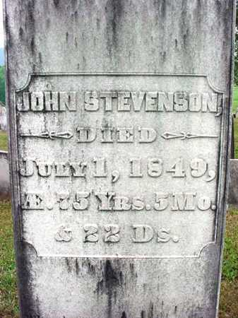 STEVENSON, JOHN - Washington County, New York | JOHN STEVENSON - New York Gravestone Photos