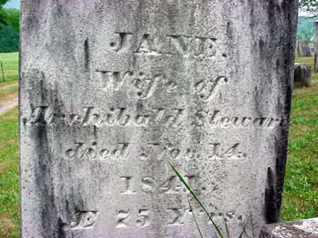 CLARK, JANE - Washington County, New York | JANE CLARK - New York Gravestone Photos