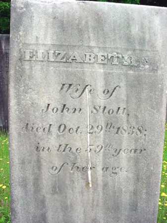STOTT, ELIZABETH - Washington County, New York | ELIZABETH STOTT - New York Gravestone Photos