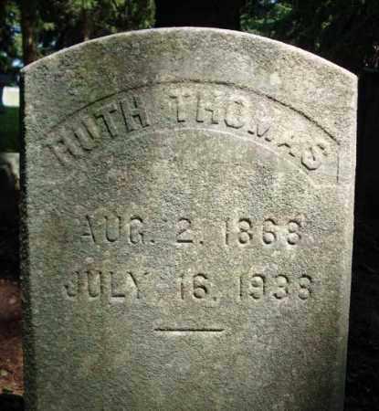 THOMAS, RUTH - Washington County, New York   RUTH THOMAS - New York Gravestone Photos
