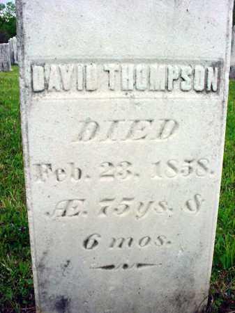 THOMPSON, DAVID - Washington County, New York | DAVID THOMPSON - New York Gravestone Photos