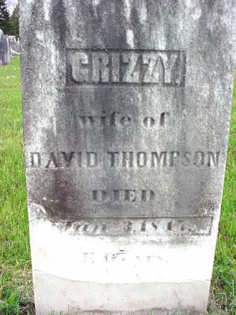 THOMPSON, GRIZZY - Washington County, New York | GRIZZY THOMPSON - New York Gravestone Photos