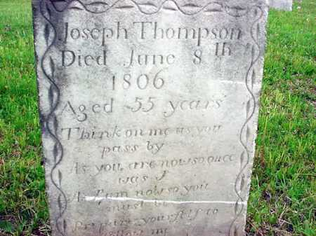 THOMPSON, JOSEPH - Washington County, New York | JOSEPH THOMPSON - New York Gravestone Photos
