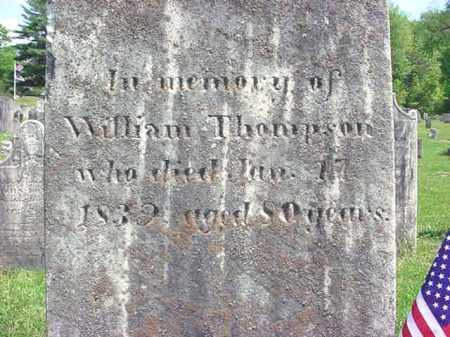 THOMPSON (RW), WILLIAM - Washington County, New York | WILLIAM THOMPSON (RW) - New York Gravestone Photos