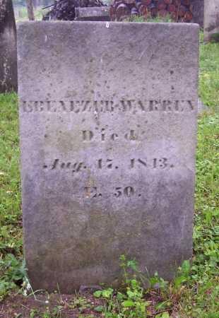 WARREN, EBENEZER - Washington County, New York | EBENEZER WARREN - New York Gravestone Photos