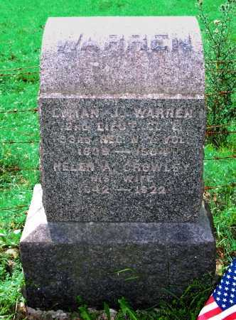 WARREN (CW), LYMAN J. - Washington County, New York | LYMAN J. WARREN (CW) - New York Gravestone Photos