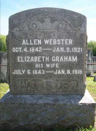 WEBSTER, ELIZABETH ANN - Washington County, New York | ELIZABETH ANN WEBSTER - New York Gravestone Photos