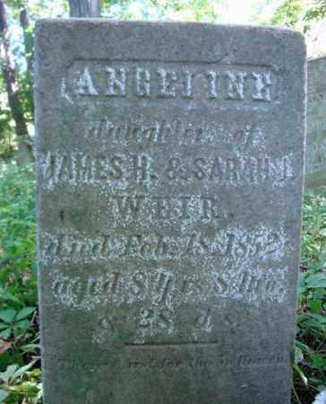 WEIR, ANGELINE - Washington County, New York | ANGELINE WEIR - New York Gravestone Photos