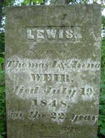 WEIR, LEWIS - Washington County, New York | LEWIS WEIR - New York Gravestone Photos