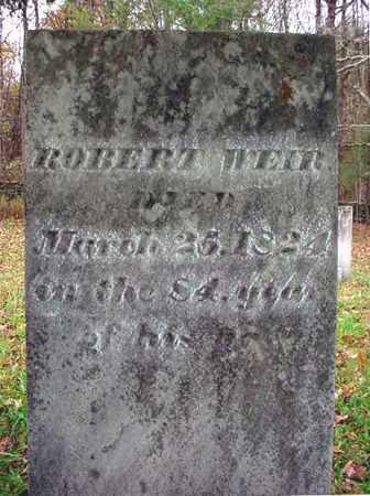 WEIR, ROBERT - Washington County, New York | ROBERT WEIR - New York Gravestone Photos