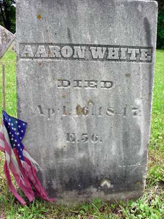 WHITE, AARON - Washington County, New York | AARON WHITE - New York Gravestone Photos