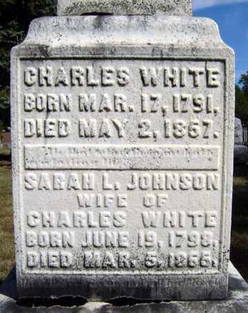 WHITE, SARAH L - Washington County, New York | SARAH L WHITE - New York Gravestone Photos