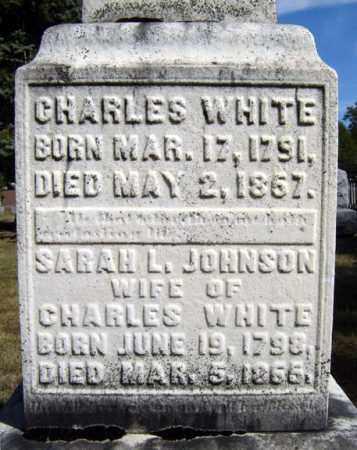 WHITE, CHARLES - Washington County, New York | CHARLES WHITE - New York Gravestone Photos