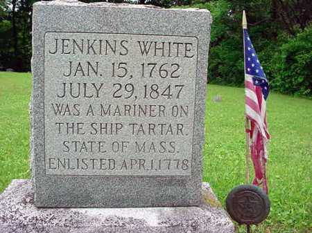 WHITE (RW), JENKINS - Washington County, New York | JENKINS WHITE (RW) - New York Gravestone Photos