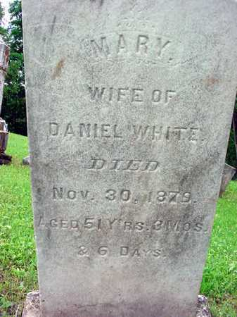 WHITE, MARY - Washington County, New York | MARY WHITE - New York Gravestone Photos