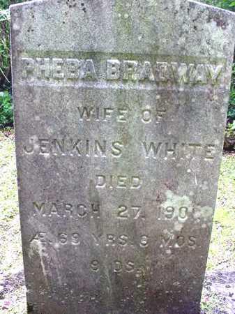 WHITE, PHEBA - Washington County, New York | PHEBA WHITE - New York Gravestone Photos