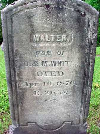 WHITE, WALTER - Washington County, New York | WALTER WHITE - New York Gravestone Photos