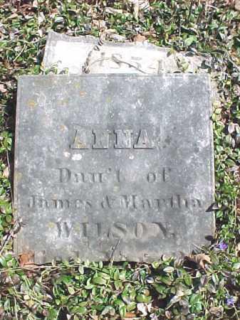 WILSON, ANNA - Washington County, New York | ANNA WILSON - New York Gravestone Photos