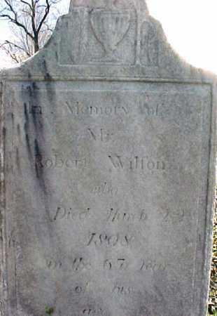 WILSON, ROBERT - Washington County, New York | ROBERT WILSON - New York Gravestone Photos