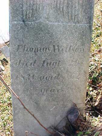 WILSON, THOMAS - Washington County, New York | THOMAS WILSON - New York Gravestone Photos