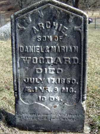 WOODARD, ARCHIE - Washington County, New York | ARCHIE WOODARD - New York Gravestone Photos