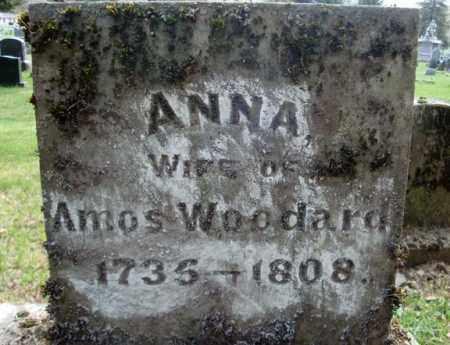 WOODARD, ANNA - Washington County, New York | ANNA WOODARD - New York Gravestone Photos