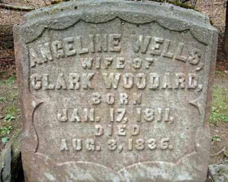 WOODARD, ANGELINE - Washington County, New York | ANGELINE WOODARD - New York Gravestone Photos