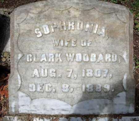 WOODARD, SOPHRONIA - Washington County, New York   SOPHRONIA WOODARD - New York Gravestone Photos