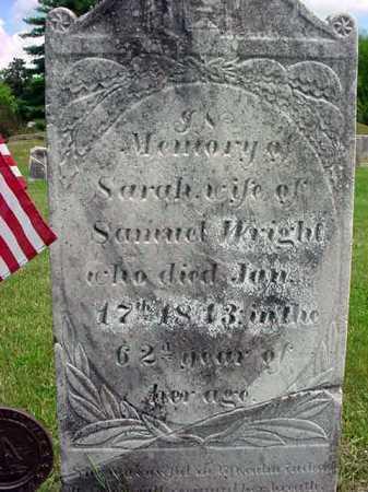WRIGHT, SARAH - Washington County, New York | SARAH WRIGHT - New York Gravestone Photos