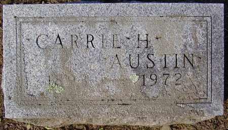AUSTIN, CARRIE H. - Wayne County, New York | CARRIE H. AUSTIN - New York Gravestone Photos