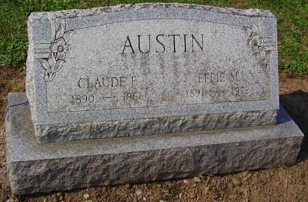 AUSTIN, CLAUDE E. - Wayne County, New York | CLAUDE E. AUSTIN - New York Gravestone Photos