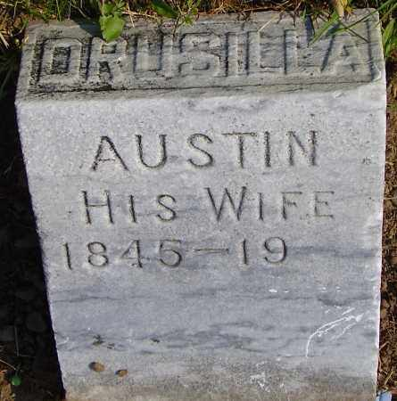 AUSTIN, DRUSILLA - Wayne County, New York | DRUSILLA AUSTIN - New York Gravestone Photos