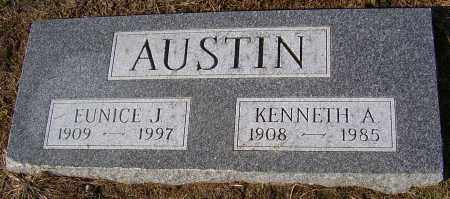 AUSTIN, KENNETH A. - Wayne County, New York | KENNETH A. AUSTIN - New York Gravestone Photos