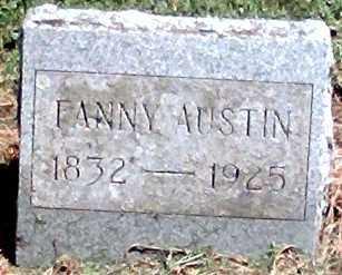 AUSTIN, FANNY - Wayne County, New York | FANNY AUSTIN - New York Gravestone Photos
